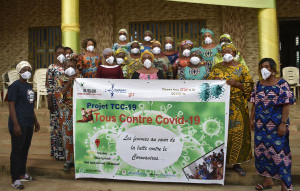 Le projet «Tous Contre COVID-19» (TCC-19): Déroulement dans le département du Plateau
